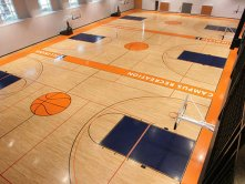 Wooden Gymnasium Flooring