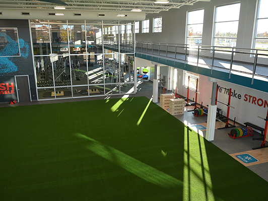 Beacon Health & Fitness - Indoor Turf And Running Track