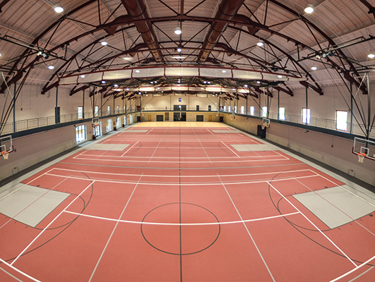 Earlham College IST Fieldhouse