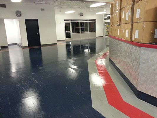 Family Ice Arena Flooring