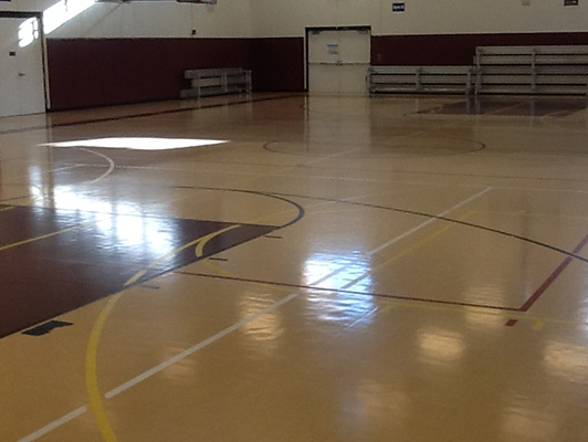 Atwood Community Center - Gym Rubber Flooring