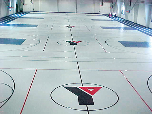 Herritage YMCA - Gym Rubber Floor