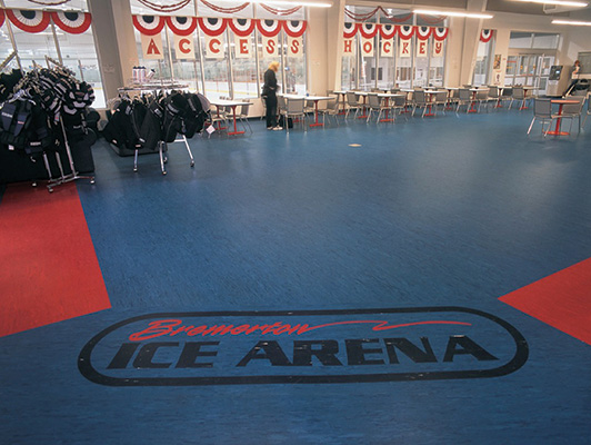 Bremerton Ice Arena Floors