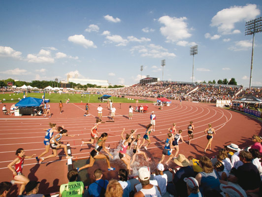 Indiana University Purdue University Track & Field Surfaces