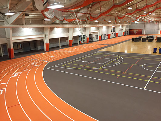 Bowling Green State University - Indoor Track / Fieldhouse Flooring