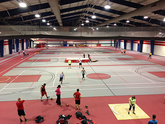 Lewis University - Indoor Sports Flooring