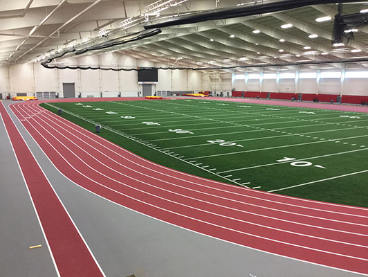 Pittsburg State University - Indoor Track / Fieldhouse Flooring