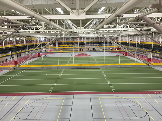 Iowa State University - Indoor Artificial Turf