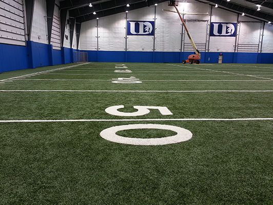 Indoor Turf University Dubuque