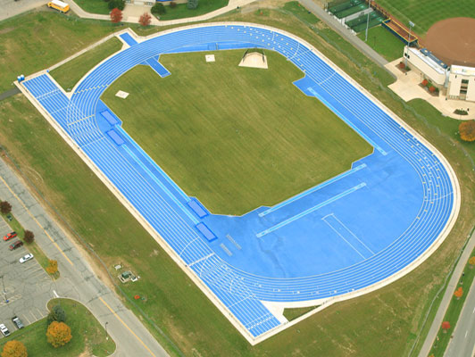University Of Notre Dame Outdoor Mondoturf Track