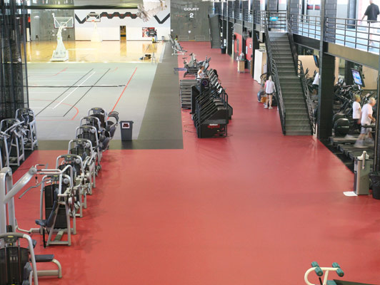Rosemont Health & Fitness Flooring