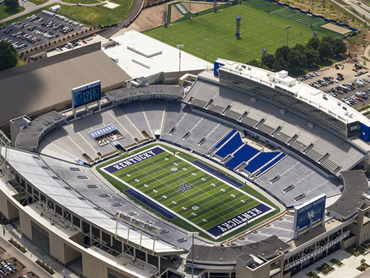 University Of Kentucky Commonwealth Stadium Football Turf