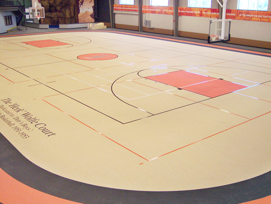 University Of Findlay Rubber Gym Flooring