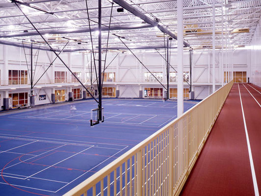 Vaughn Athletic Center Flooring