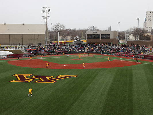 Minnesota University Siebert Field Baseball / Softball Artificial Turf
