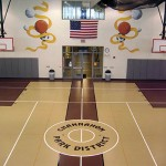 Channahon Park District Basketball Flooring