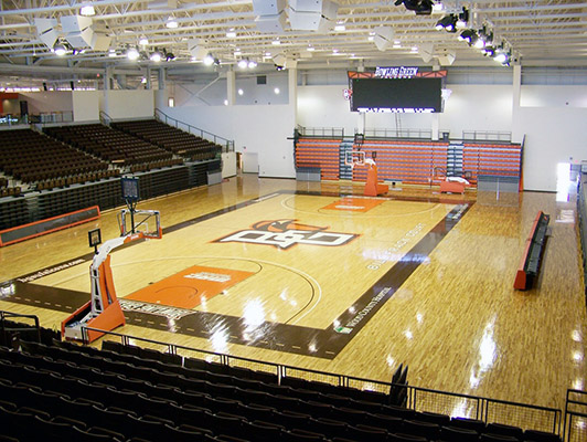 Basketball Flooring Bowling Green State University