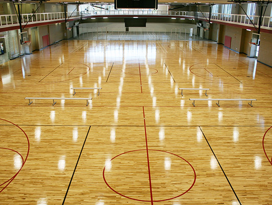Bradley University Basketball Flooring