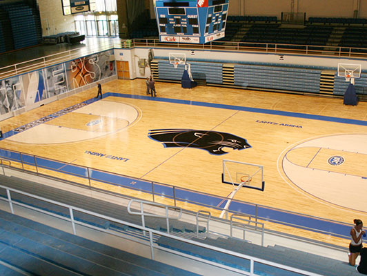 Basketball Flooring Eastern Illinois University