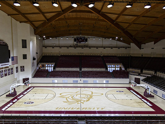 Eastern Kentucky University Basketball Flooring