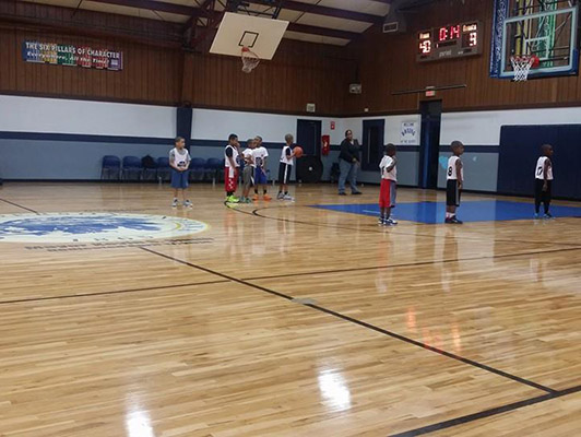 Geater Community Center Basketball Flooring