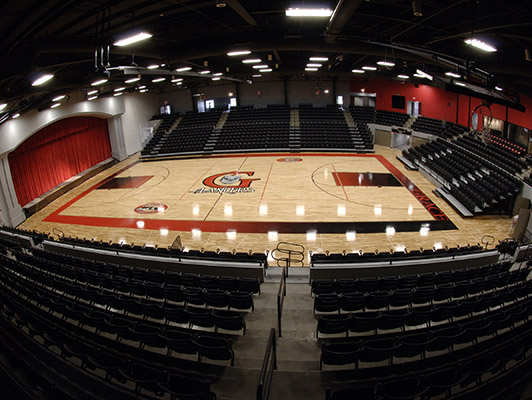 Grace College Basketball Flooring