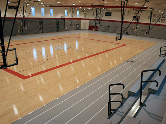 Grant High School Basketball Flooring