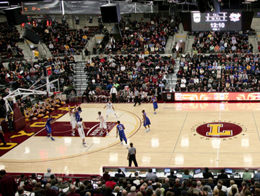 Basketball Flooring Loyola University – Chicago