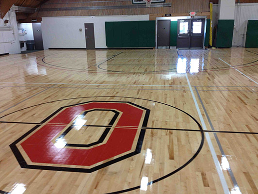 Ohio State University Basketball Flooring