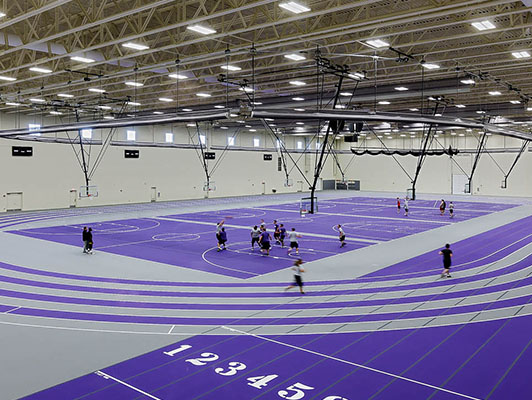 Basketball Flooring Olivet Nazarene University