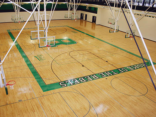 Ridgewood High School Basketball Flooring