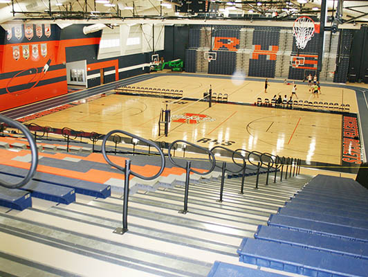 Rochester High School Basketball Flooring