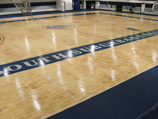 Basketball Flooring South Suburban College