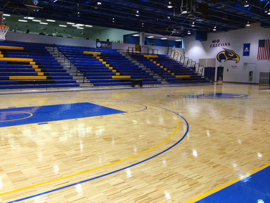 Southeastern Illinois University Basketball Flooring