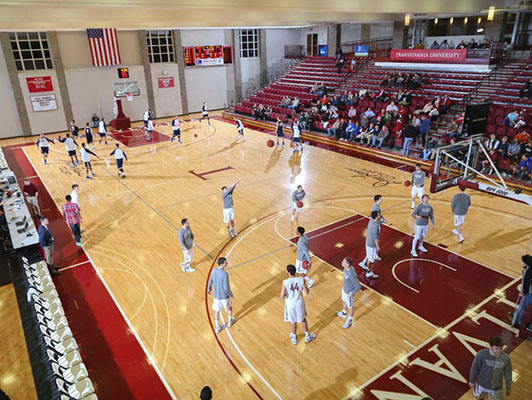 Basketball Flooring Transylvania University