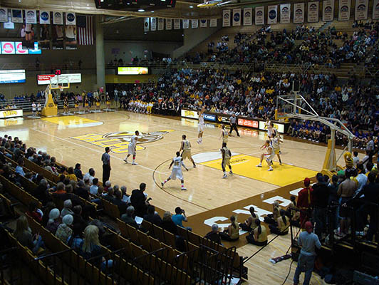 Valparaiso University Basketball Flooring