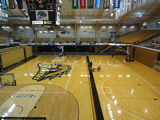 Basketball Flooring Western Michigan University