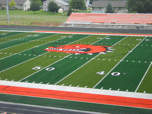 Byron Center High School Football Field Turf