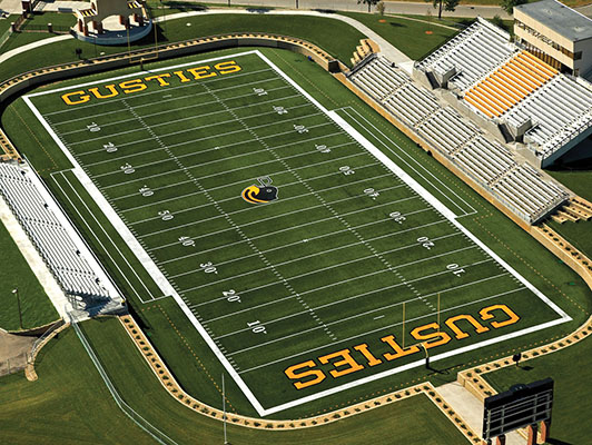 Gustavus Adolphus College Football Field Artificial Turf