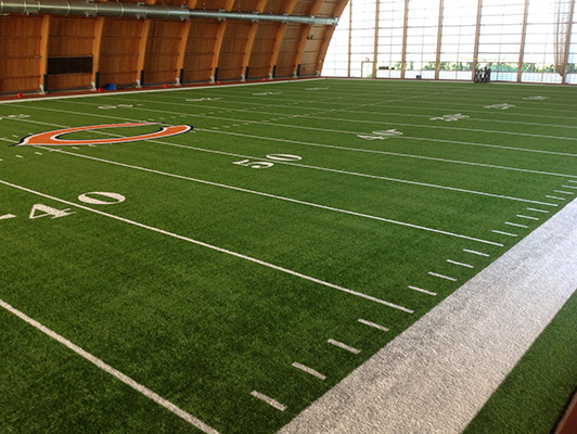 Halas Hall Football Field Artificial Turf