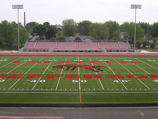 Jefferson High School Football Field Artificial Turf
