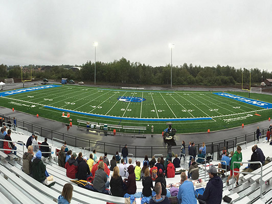 Superior High School Football Field Artificial Turf