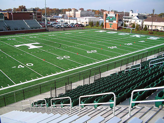 Trinity High School Football Field Artificial Turf