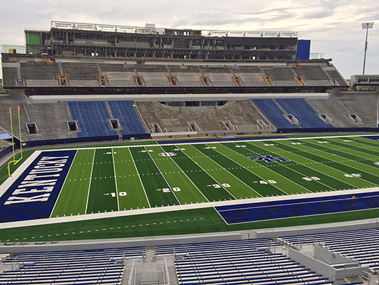 University Of Kentucky Football Synthetic Turf