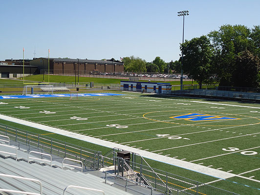 Warren High School Football Synthetic Turf