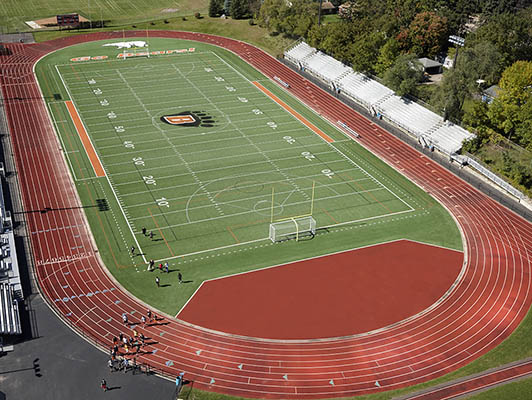 White Bear Lake High School Football Synthetic Turf
