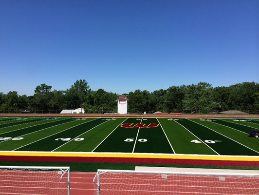 Winnetonka High School Football Field Turf