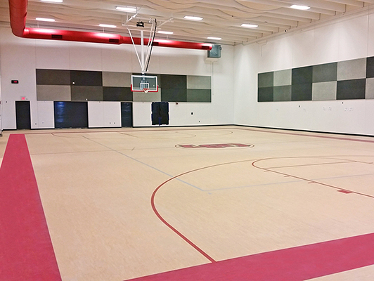 Carl Junction High School - Rubber Gym Flooring