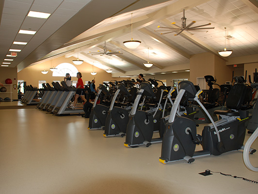 Lindenhurst Health Fitness Center Floors