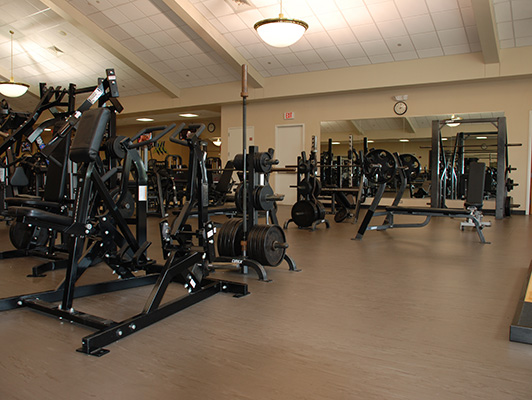 Lindenhurst Health Fitness Center Flooring